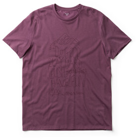 Houdini Big Up Message Tee Herren rasberry rush red